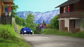 Richard Burns Rally(PC) - France Onboard Gameplay