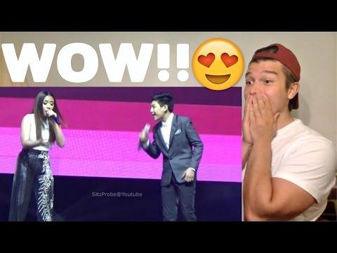 Morissette Amon and Darren Espanto Chandelier Showdown Reaction!