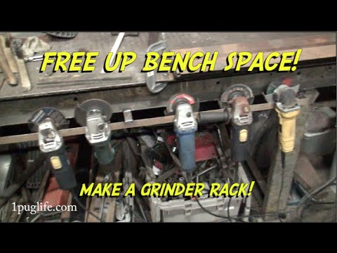 grinder storage and drunk tank