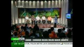 BTP (Ahok) debat Cagub/Cawagub DKI Jakarta di JAKTV 13 April 2012