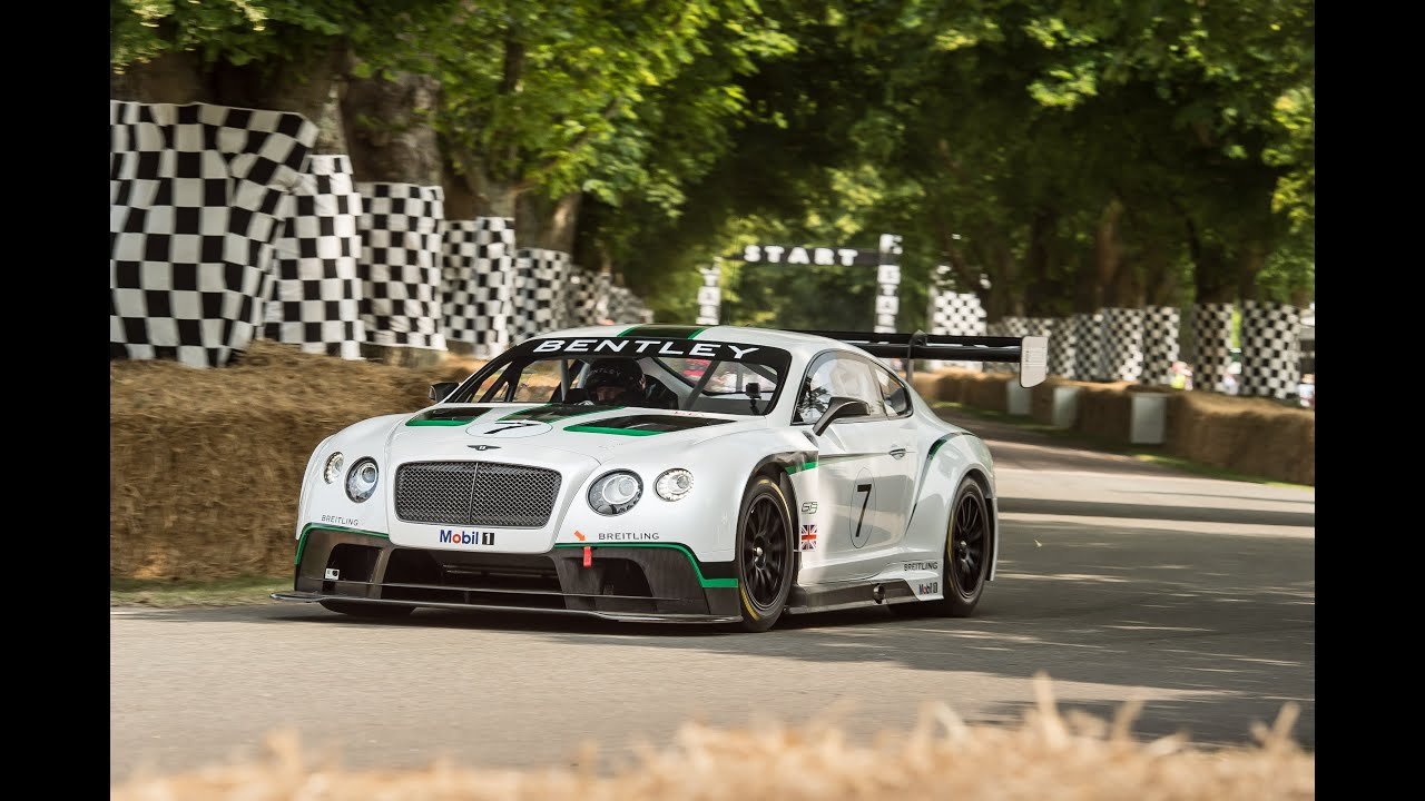Bentley debuts its new Continental GT3 race car - YouTube
