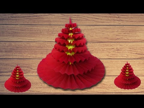 How to Make a Rosette YOYO Christmas Tree with linascraftclub
