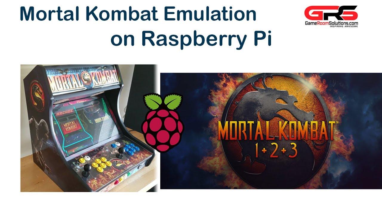 raspberry pi install arcade emulator