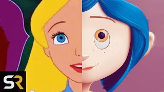 Coraline, Wizard of Oz and Alice in Wonderland Are Connected