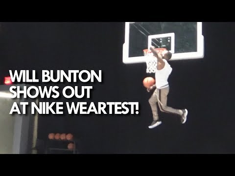"""50"""" VERTICAL! Will Bunton SHOWS OUT at NIKE Adapt BB Wear Test in NYC!"""