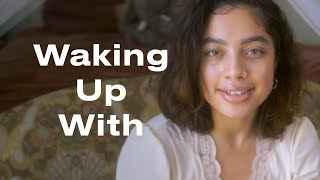 Kiana Ledé Shares Her Milk Makeup & Glossier Regimen for the Perfect Glow | Waking Up With | ELLE