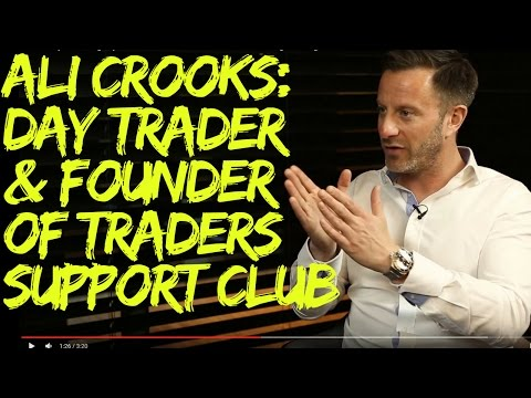 Ali Crooks: Day Trader and Founder of Traders Support Club