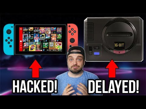Nintendo Switch Online HACKED! Sega Genesis Mini DELAYED!  RGT 85