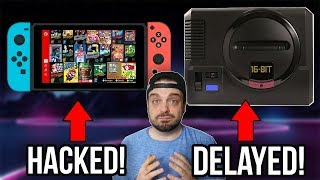 Nintendo Switch Online HACKED! Sega Genesis Mini DELAYED! | RGT 85