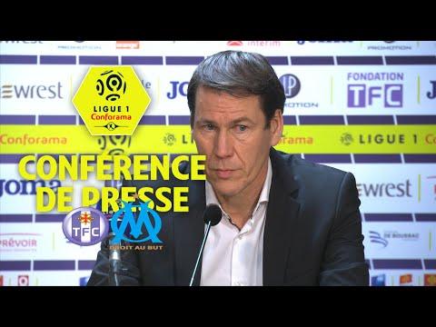Conférence de presse Toulouse FC - Olympique de Marseille (1-2) / 2017-18