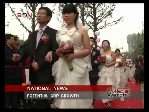 Potential GDP growth - Oct 31.,2014 - BONTV China