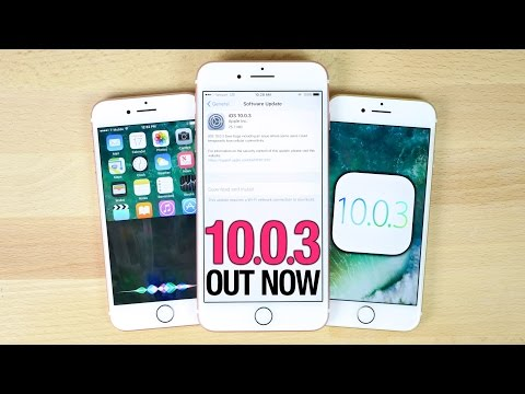 iOS 10.0.3 Released - Everything You Need To Know!