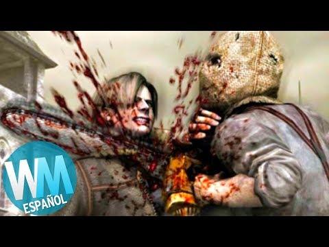 ¡Top 10 Enemigos Que Te Matan de UN GOLPE en Videojuegos!