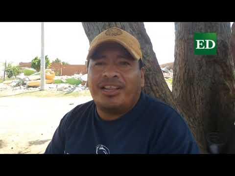 El drama de las familias desalojadas en los barrios Italia y La Purísima