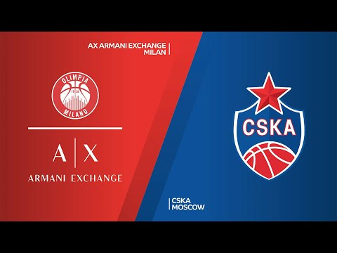 AX Armani Exchange Milan - CSKA Moscow Highlights | Turkish Airlines EuroLeague, RS Round 17