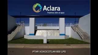 Descarga de agua tratada en Planta de Tratamiento MEGA