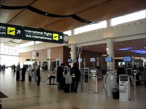 Tour of Winnipeg International Airport