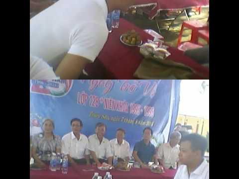 Kỷ niệm 20 năm ngày ra trường lớp 12b trường PTTH Triệu sơn 3 khóa học 93-96