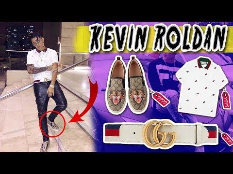 El CANTANTE que solo usa GUCCI? Kevin Roldan, cuánto cuesta su outfit?