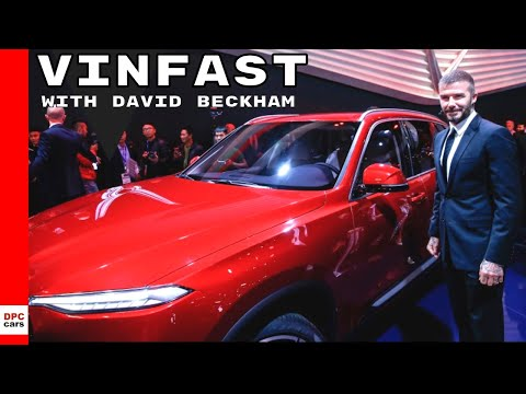 Vinfast Sedan and SUV Unveiling With David Beckham