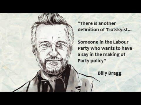 'Trotsky entryist' in plain English by @BillyBragg #KeepCorbyn
