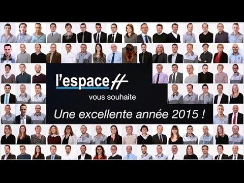 l 39 espace h vous souhaite une excellente ann e 2015 youtube. Black Bedroom Furniture Sets. Home Design Ideas