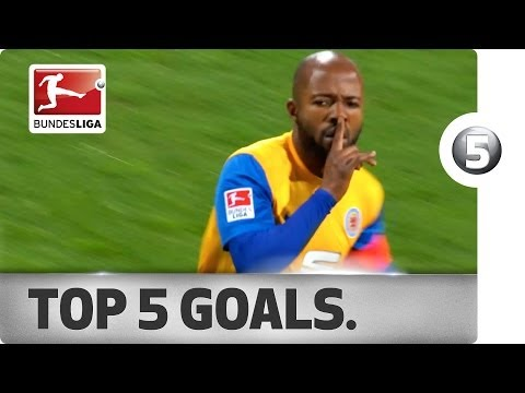 Top 5 Goals - Ribery's chip, Kumbela's bicycle kick and more