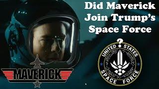 Did Tom Cruise Join Trump's SPACE FORCE? Goose Jr? #TopGun #Maverick REACTION