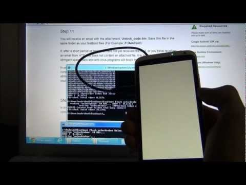 How To Unlock HTC One X Bootloader
