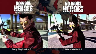No More Heroes | PS3 vs Switch