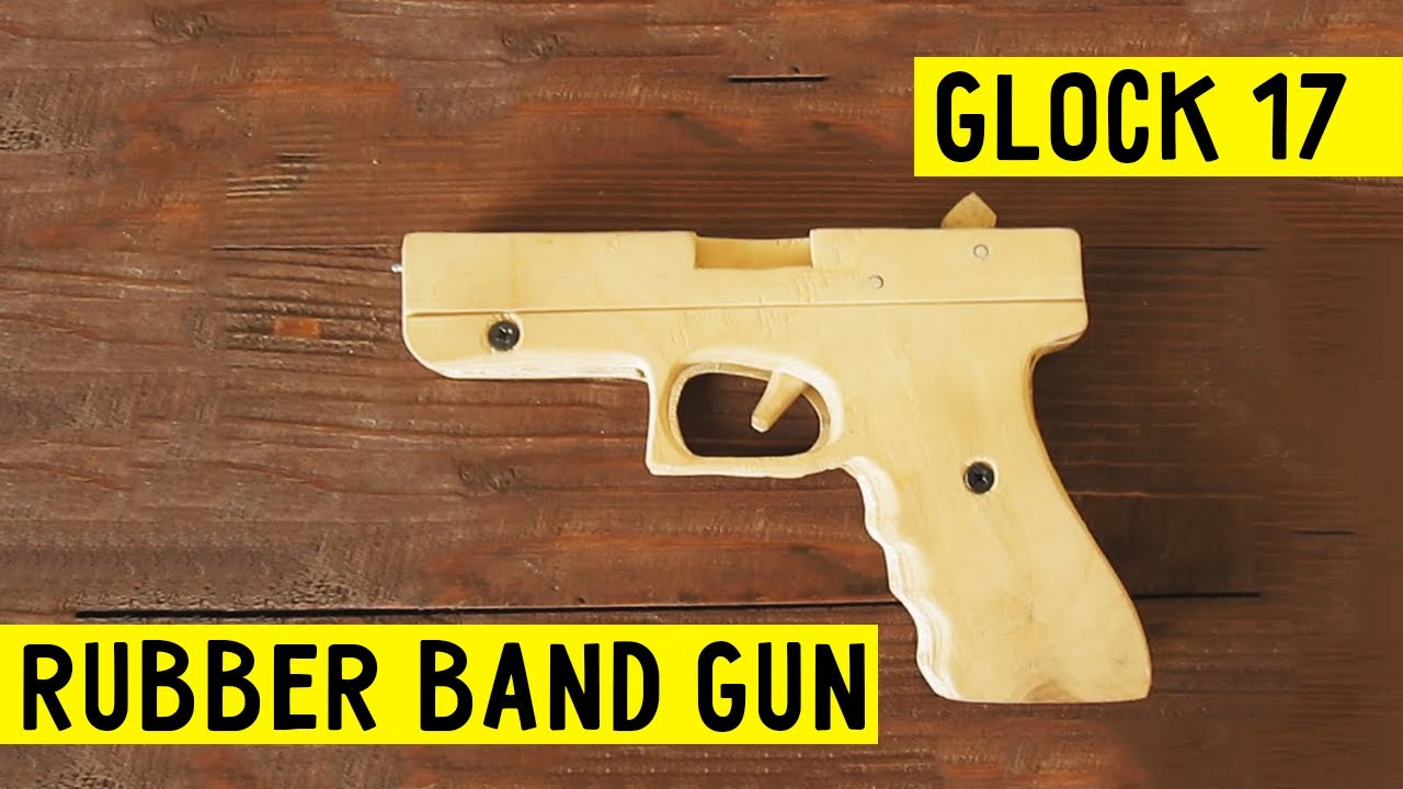 Desert Home Plans How To Make Easy Glock 17 Rubber Band Gun Tutorial