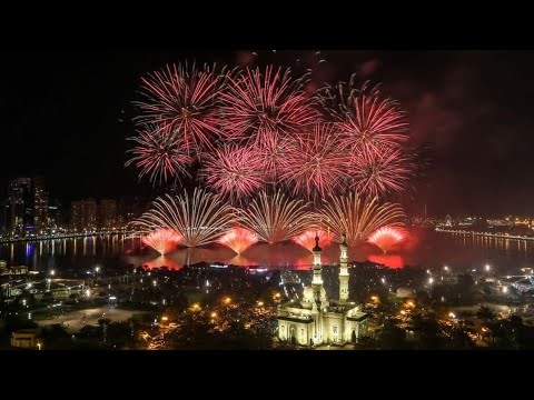 The best Fireworks in 2020. Dubai Marina New Year Celebrations