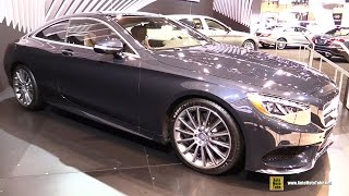 2015 Mercedes-Benz S-Class S550 Coupe - Exterior and Interior Walkaround - 2015 Chicago Auto Show