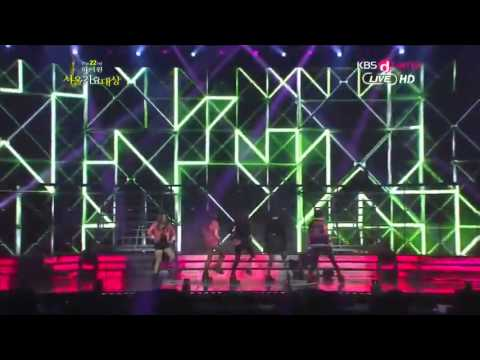 Electric Shock - The 22nd Seoul Music Award (130131)