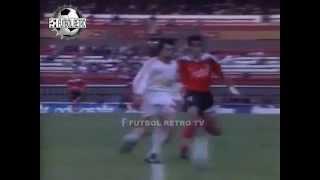 River Plate 3 vs Huracan 1 CLAUSURA 1995 Berti, Crespo, Silvani