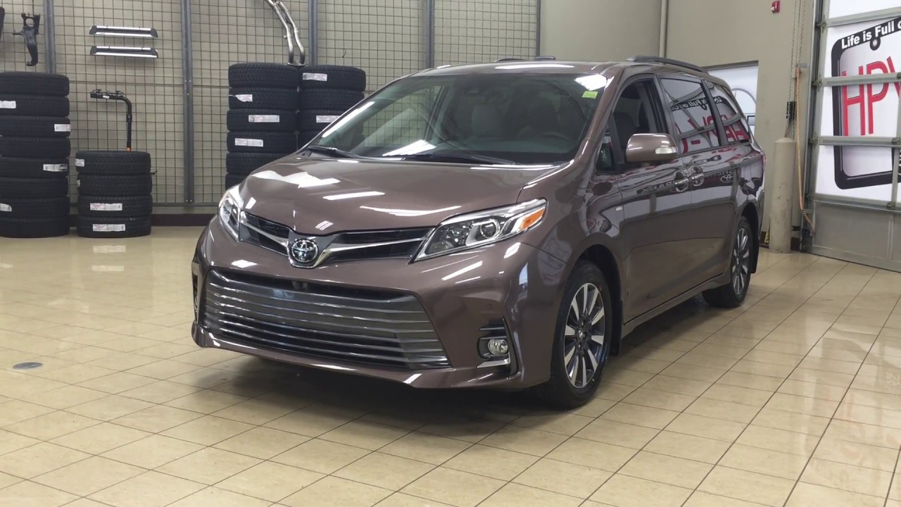 2018 Toyota Sienna Limited AWD Review