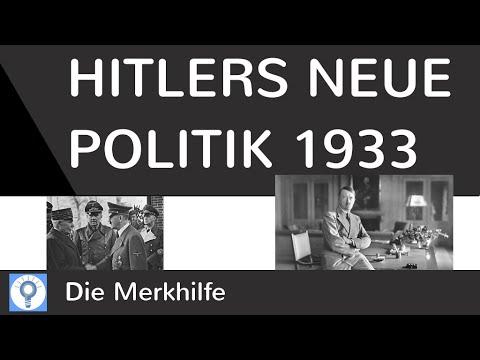 Ziele der neuen Politik Hitlers 1933 - Liebmannaufzeichnung   Nationalsozialismus 7