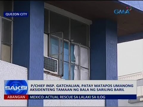 Saksi: P/Chief Insp. Gatchalian, patay matapos umanong aksidenteng tamaan ng bala ng sariling baril