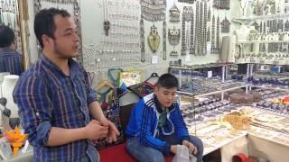 """""""Kapaly çarşy"""": Türkmen dükanlary"""
