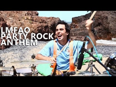"""Party Rock Anthem Drum Cover - LMFAO - Fede Rabaquino """"Outdoor Series"""""""