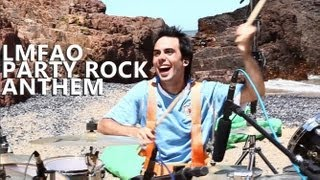 "Party Rock Anthem Drum Cover - LMFAO - Fede Rabaquino ""Outdoor Series"""