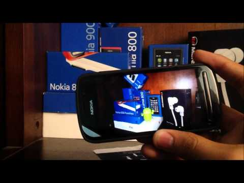 Video/Photo Editing on Nokia 808 Pureview (Vs. Nokia N8) HD