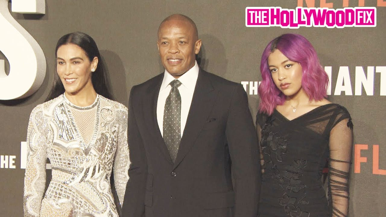Dr. Dre, His Wife Nicole Young & Daughter Truly Young Arrive To 'The Defiant Ones' Movie Premiere