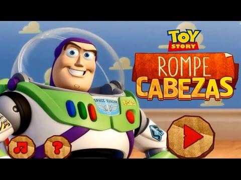 Toy Story - Buzz Lightyear y Woody - Juego de Rompecabezas