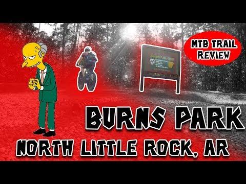 Burns Park Trail Review 2017 - North Little Rock, AR