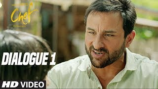 What Is Chole Bhature?  Chef (Dialogue Promo 1) | Saif Ali Khan | Raja Krishna Menon