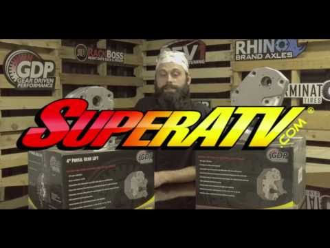 SuperATV - GDP Portal Gear Lifts - Why We Make Them