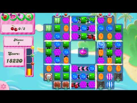 Candy Crush Saga Level 2961 NO BOOSTERS