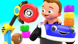 Learn Colors with Basketball Balls Children Nursery Rhymes Learning Video Compilation #7