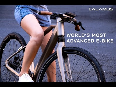 calamus one ultrabike pushes the boundaries of e-bike technology